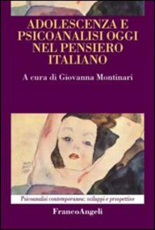 Daddyswing.es Adolescenza e psicoanalisi oggi nel pensiero italiano Image