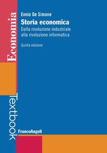 Vitalitart.it Storia economica. Dalla rivoluzione industriale alla rivoluzione informatica Image
