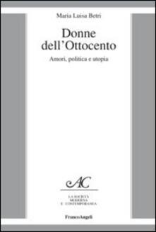 Vitalitart.it Donne dell'Ottocento. Amori, politica e utopia Image