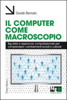 Lpgcsostenible.es Il computer come macroscopio. Big data e approccio computazionale per comprendere i cambiamenti sociali e culturali Image