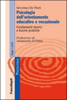 Nordestcaffeisola.it Psicologia dell'orientamento educativo e vocazionale. Fondamenti teorici e buone pratiche Image