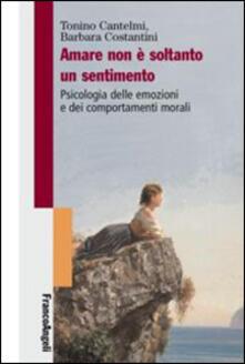 Librisulladiversita.it Amare non è soltanto un sentimento. Psicologia delle emozioni e dei comportamenti morali Image