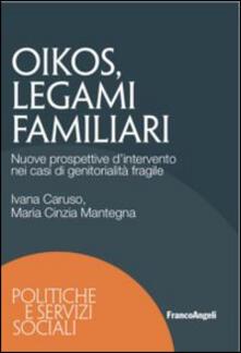 Antondemarirreguera.es Oikos legami familiari. Nuove prospettive d'intervento nei casi di ge nitorialità fragile Image