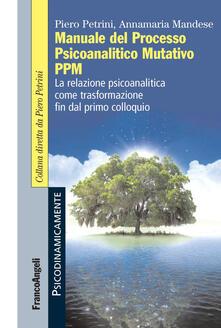 Criticalwinenotav.it Manuale del Processo Psicoanalitico Mutativo PPM. La relazione psicoanalitica come trasformazione fin dal primo colloquio Image