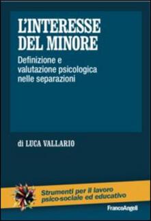 L interesse del minore. Definizione e valutazione psicologica nelle separazioni.pdf