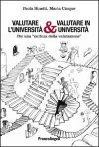 Valutare l'università & valutare in università. Per una «cultura della valutazione»