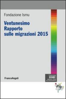 Collegiomercanzia.it Ventunesimo rapporto sulle migrazioni 2015 Image