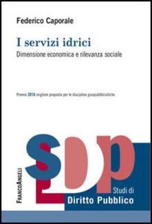 I servizi idrici. Dimensione economica e rilevanza sociale.pdf