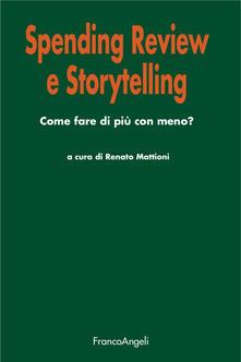 Tegliowinterrun.it Spending review e storytelling. Come fare di più con meno? Image