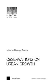 Observations on urban growth