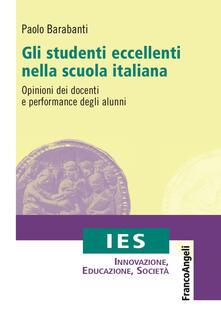Nicocaradonna.it Gli studenti eccellenti nella scuola italiana. Opinioni dei docenti e performance degli alunni Image