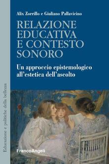 Premioquesti.it Relazione educativa e contesto sonoro. Un approccio epistemologico all'estetica dell'ascolto Image