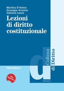 Filippodegasperi.it Lezioni di diritto costituzionale Image