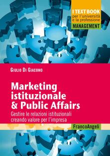 Amatigota.it Marketing istituzionale & public affairs. Gestire le relazioni istituzionali creando valore per l'impresa Image