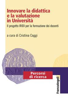 Parcoarenas.it Innovare la didattica e la valutazione in Università. Il progetto IRIDI per la formazione dei docenti Image