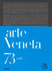 Lpgcsostenible.es Arte veneta. Rivista di storia dell'arte (2016). Ediz. illustrata. Vol. 73: Bibliografia dell'arte veneta (2015). Image