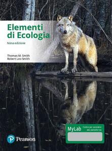 Associazionelabirinto.it Elementi di ecologia. Ediz. mylab. Con eText. Con aggiornamento online Image