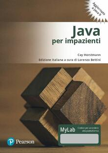 3tsportingclub.it Java per impazienti. Ediz. Mylab. Con Contenuto digitale per download e accesso on line Image