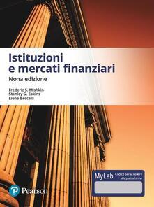 Istituzioni e mercati finanziari. Ediz. MyLab. Con aggiornamento online.pdf