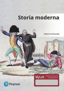 Grandtoureventi.it Storia moderna. Ediz. Mylab. Con aggiornamento online Image