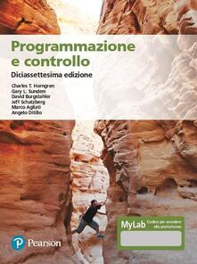 Programmazione e controllo. Ediz. MyLab. Con Contenuto digitale per accesso on line.pdf