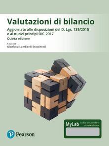 Valutazioni di bilancio. Ediz. Mylab. Con Contenuto digitale per download e accesso on line.pdf