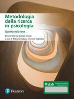 Metodologia della ricerca in psicologia. Ediz. MyLab. Con Contenuto digitale per accesso on line