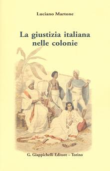 Premioquesti.it La giustizia italiana nelle colonie Image