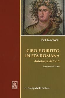 Cibo e diritto in età romana. Antologia di fondi.pdf