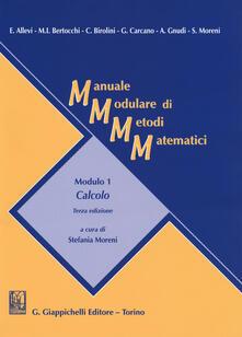 Winniearcher.com Manuale modulare di metodi matematici. Modulo 1: Calcolo Image