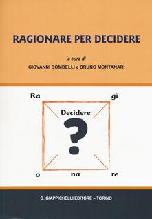 Radiospeed.it Ragionare per decidere Image