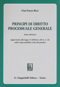 Principi di diritto processuale generale