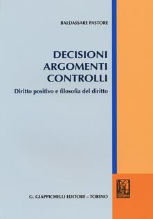 Voluntariadobaleares2014.es Decisioni argomenti controlli. Diritto positivo e filosofia del diritto Image
