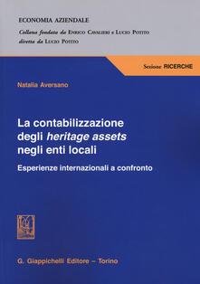 Osteriacasadimare.it La contabilizzazione degli heritage assets negli enti locali. Esperienze internazionali a confronto Image