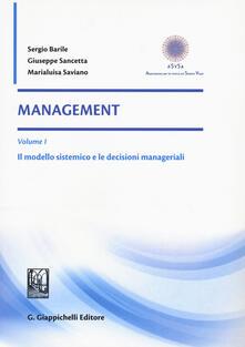 Voluntariadobaleares2014.es Management. Vol. 1: Il modello sistemico e le decisioni manageriali. Image