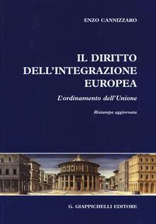 Daddyswing.es Il diritto dell'integrazione europea. L'ordinamento dell'Unione Image