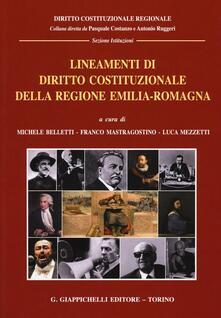 Radiospeed.it Lineamenti di diritto costituzionale della Regione Emilia-Romagna Image