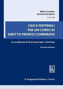 Ipabsantonioabatetrino.it Casi e materiali per un corso di diritto privato comparato. Le tradizioni di common law e civil law Image