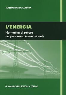 Equilibrifestival.it L' energia. Normativa di settore nel panorama internazionale Image