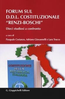 Forum sul D.D.L. costituzionale Renzi-Boschi. Dieci studiosi a confronto.pdf