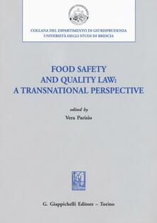 Aboutschuster.de Food safety and quality law: a transnational perspective Image