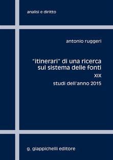 Fondazionesergioperlamusica.it «Itinerari» di una ricerca sul sistema delle fonti. Vol. 19: Studi dell'anno 2015. Image