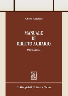 Manuale di diritto agrario.pdf