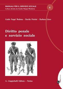 Ipabsantonioabatetrino.it Diritto penale e servizio sociale Image