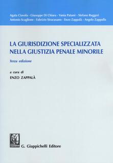 Secchiarapita.it La giurisdizione specializzata nella giustizia penale minorile Image