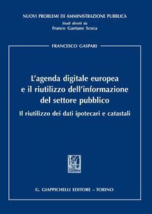 Voluntariadobaleares2014.es L' agenda digitale europea e il riutilizzo dell'informazione del settore pubblico. Il riutilizzo dei dati ipotecari e catastali Image
