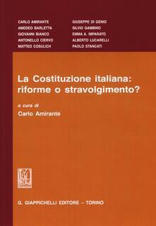 Birrafraitrulli.it La Costituzione italiana: riforme o stravolgimento? Image