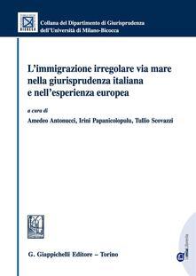 Winniearcher.com L' immigrazione irregolare via mare nella giurisprudenza italiana e nell'esperienza europea. Con e-book Image
