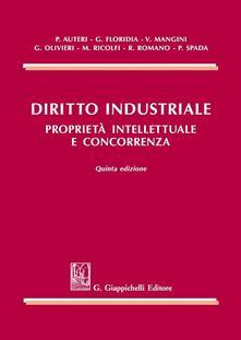 Camfeed.it Diritto industriale. Proprietà intellettuale e concorrenza Image