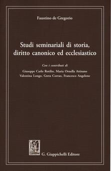 Winniearcher.com Studi seminariali di storia, diritto canonico ed ecclesiastico Image
